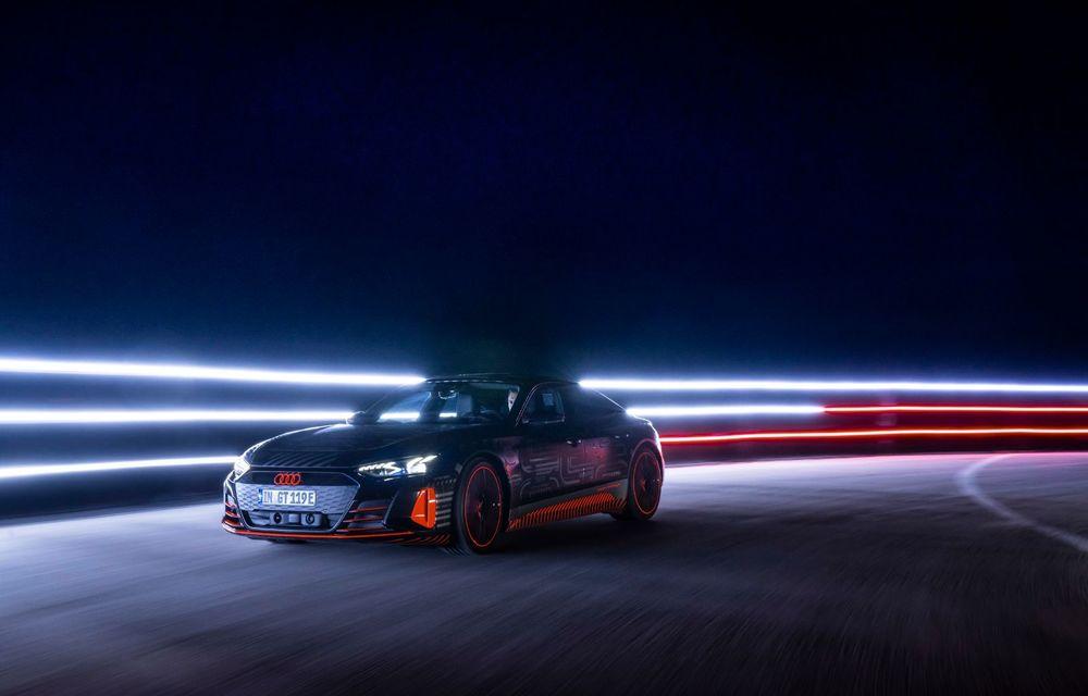 Imagini și informații noi referitoare la viitorul Audi RS e-tron GT: două motoare electrice cu până la 655 CP și autonomie estimată de 400 de kilometri - Poza 56