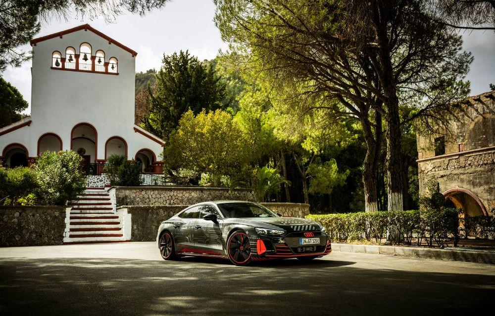 Imagini și informații noi referitoare la viitorul Audi RS e-tron GT: două motoare electrice cu până la 655 CP și autonomie estimată de 400 de kilometri - Poza 29