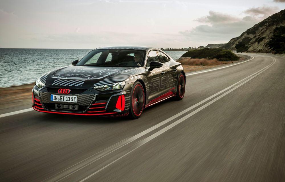 Imagini și informații noi referitoare la viitorul Audi RS e-tron GT: două motoare electrice cu până la 655 CP și autonomie estimată de 400 de kilometri - Poza 35