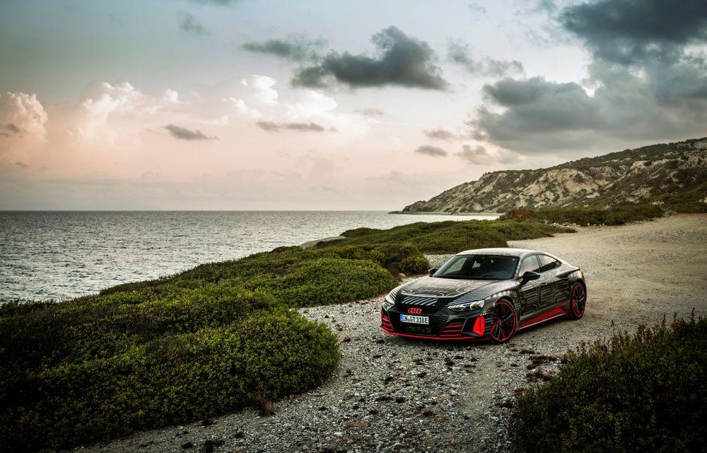 Imagini și informații noi referitoare la viitorul Audi RS e-tron GT: două motoare electrice cu până la 655 CP și autonomie estimată de 400 de kilometri - Poza 33
