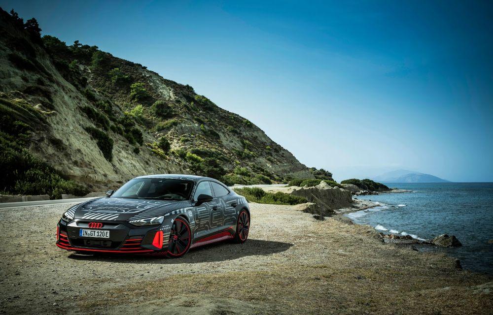 Imagini și informații noi referitoare la viitorul Audi RS e-tron GT: două motoare electrice cu până la 655 CP și autonomie estimată de 400 de kilometri - Poza 24