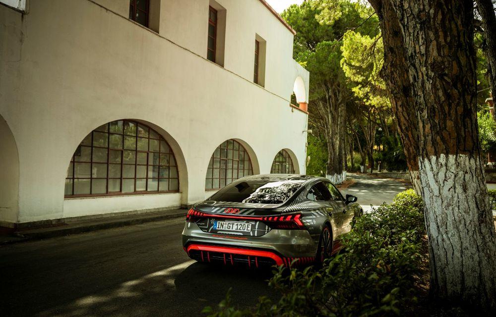Imagini și informații noi referitoare la viitorul Audi RS e-tron GT: două motoare electrice cu până la 655 CP și autonomie estimată de 400 de kilometri - Poza 30