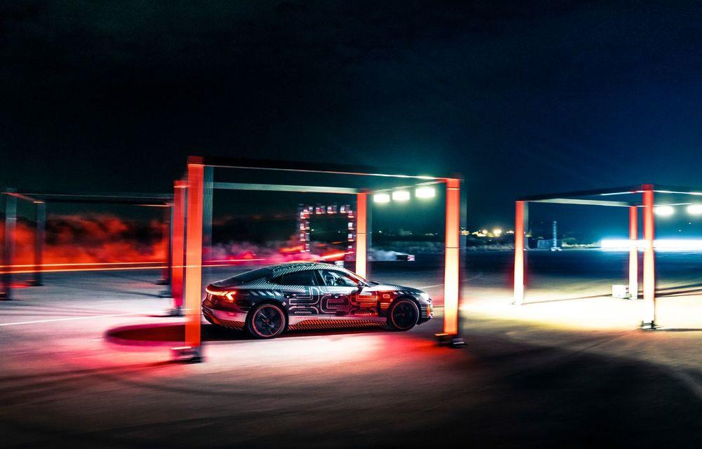 Imagini și informații noi referitoare la viitorul Audi RS e-tron GT: două motoare electrice cu până la 655 CP și autonomie estimată de 400 de kilometri - Poza 61