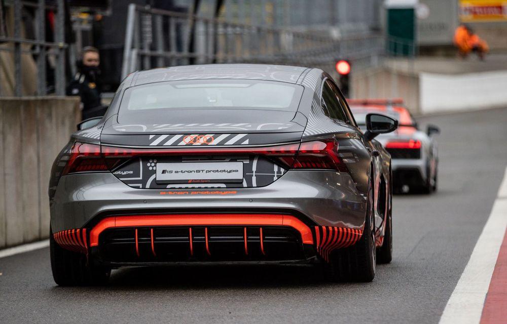 Imagini și informații noi referitoare la viitorul Audi RS e-tron GT: două motoare electrice cu până la 655 CP și autonomie estimată de 400 de kilometri - Poza 42