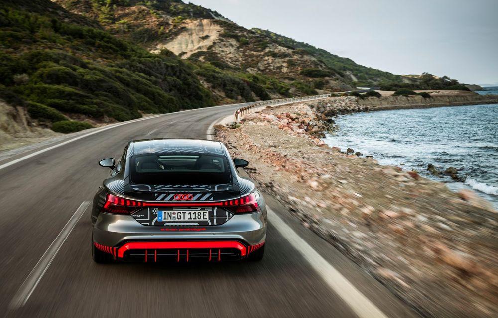 Imagini și informații noi referitoare la viitorul Audi RS e-tron GT: două motoare electrice cu până la 655 CP și autonomie estimată de 400 de kilometri - Poza 36