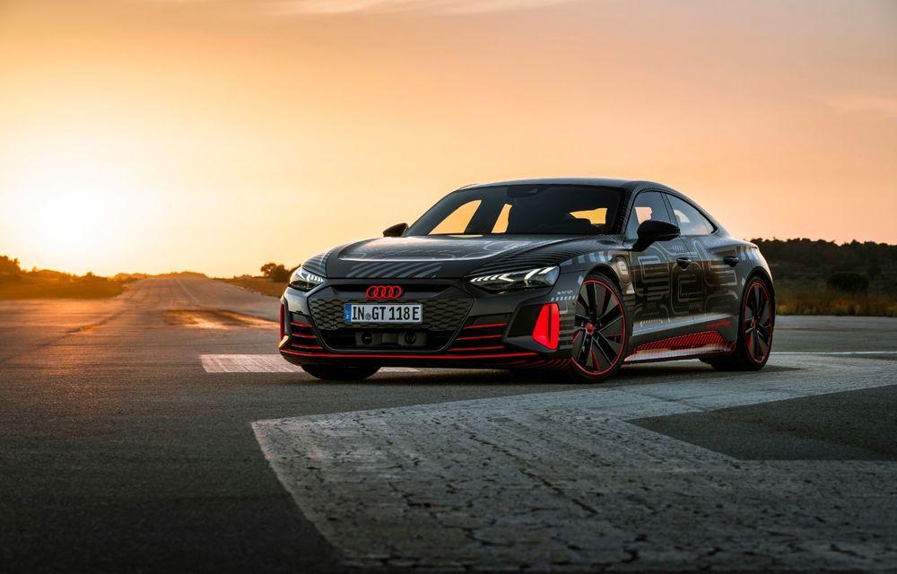 Imagini și informații noi referitoare la viitorul Audi RS e-tron GT: două motoare electrice cu până la 655 CP și autonomie estimată de 400 de kilometri - Poza 12