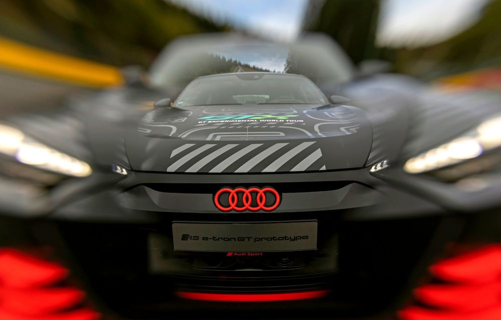 Imagini și informații noi referitoare la viitorul Audi RS e-tron GT: două motoare electrice cu până la 655 CP și autonomie estimată de 400 de kilometri - Poza 8