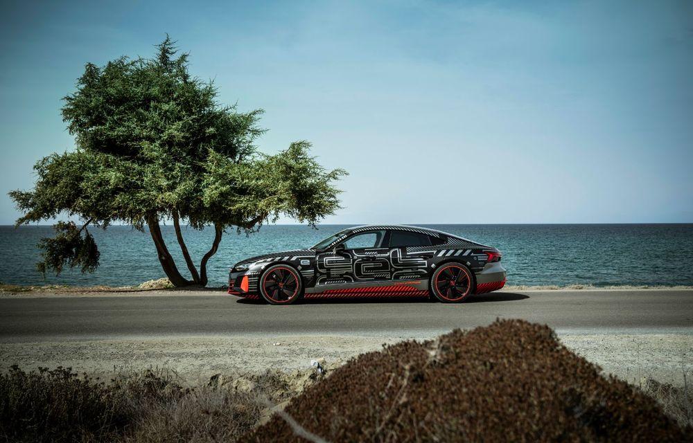 Imagini și informații noi referitoare la viitorul Audi RS e-tron GT: două motoare electrice cu până la 655 CP și autonomie estimată de 400 de kilometri - Poza 27