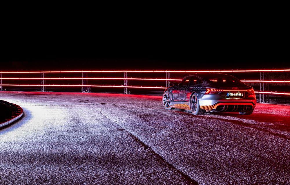 Imagini și informații noi referitoare la viitorul Audi RS e-tron GT: două motoare electrice cu până la 655 CP și autonomie estimată de 400 de kilometri - Poza 40