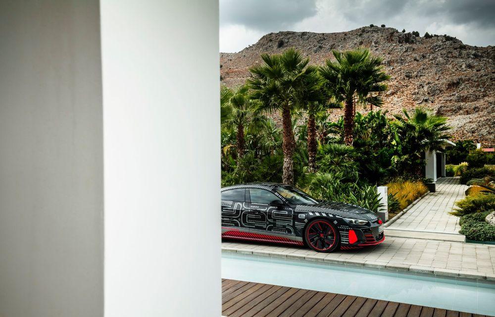 Imagini și informații noi referitoare la viitorul Audi RS e-tron GT: două motoare electrice cu până la 655 CP și autonomie estimată de 400 de kilometri - Poza 45