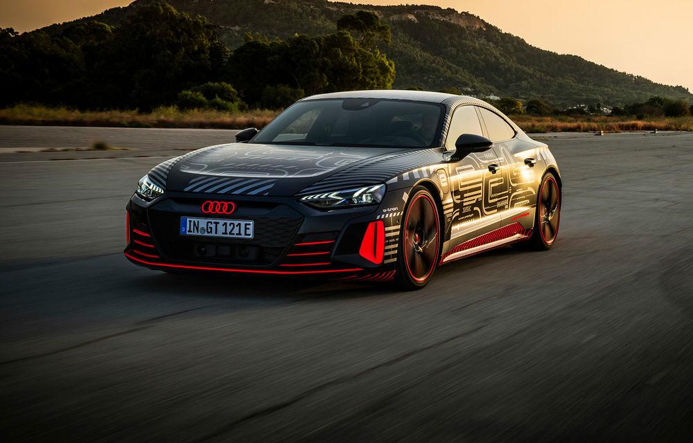 Imagini și informații noi referitoare la viitorul Audi RS e-tron GT: două motoare electrice cu până la 655 CP și autonomie estimată de 400 de kilometri - Poza 1