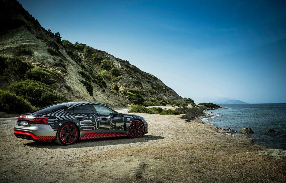Imagini și informații noi referitoare la viitorul Audi RS e-tron GT: două motoare electrice cu până la 655 CP și autonomie estimată de 400 de kilometri - Poza 23