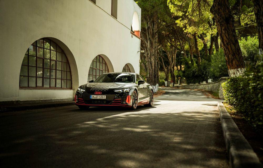 Imagini și informații noi referitoare la viitorul Audi RS e-tron GT: două motoare electrice cu până la 655 CP și autonomie estimată de 400 de kilometri - Poza 32