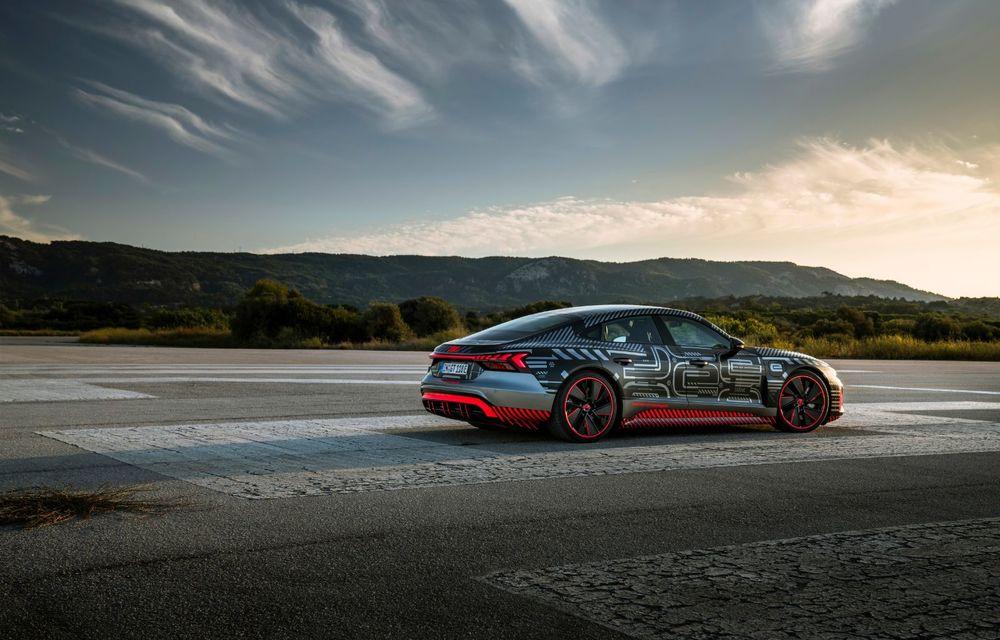 Imagini și informații noi referitoare la viitorul Audi RS e-tron GT: două motoare electrice cu până la 655 CP și autonomie estimată de 400 de kilometri - Poza 39