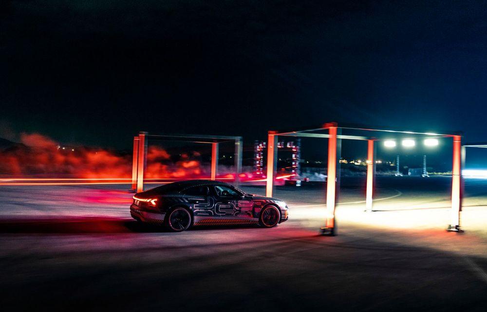 Imagini și informații noi referitoare la viitorul Audi RS e-tron GT: două motoare electrice cu până la 655 CP și autonomie estimată de 400 de kilometri - Poza 62