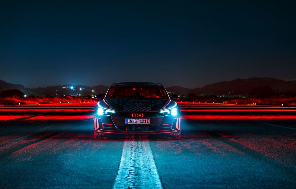 Imagini și informații noi referitoare la viitorul Audi RS e-tron GT: două motoare electrice cu până la 655 CP și autonomie estimată de 400 de kilometri - Poza 51