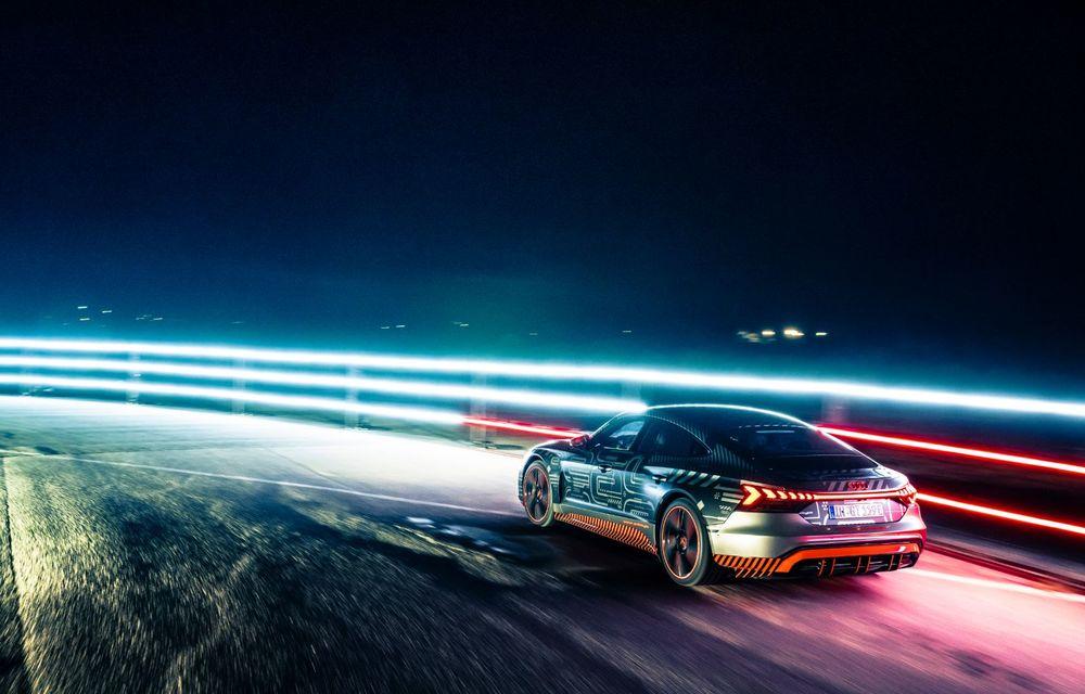 Imagini și informații noi referitoare la viitorul Audi RS e-tron GT: două motoare electrice cu până la 655 CP și autonomie estimată de 400 de kilometri - Poza 63