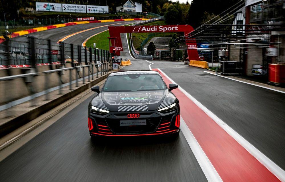 Imagini și informații noi referitoare la viitorul Audi RS e-tron GT: două motoare electrice cu până la 655 CP și autonomie estimată de 400 de kilometri - Poza 5