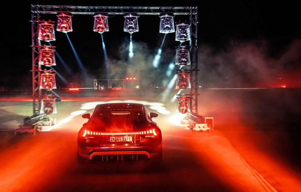 Imagini și informații noi referitoare la viitorul Audi RS e-tron GT: două motoare electrice cu până la 655 CP și autonomie estimată de 400 de kilometri - Poza 64