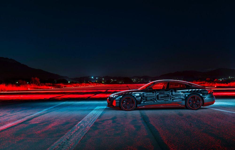 Imagini și informații noi referitoare la viitorul Audi RS e-tron GT: două motoare electrice cu până la 655 CP și autonomie estimată de 400 de kilometri - Poza 41