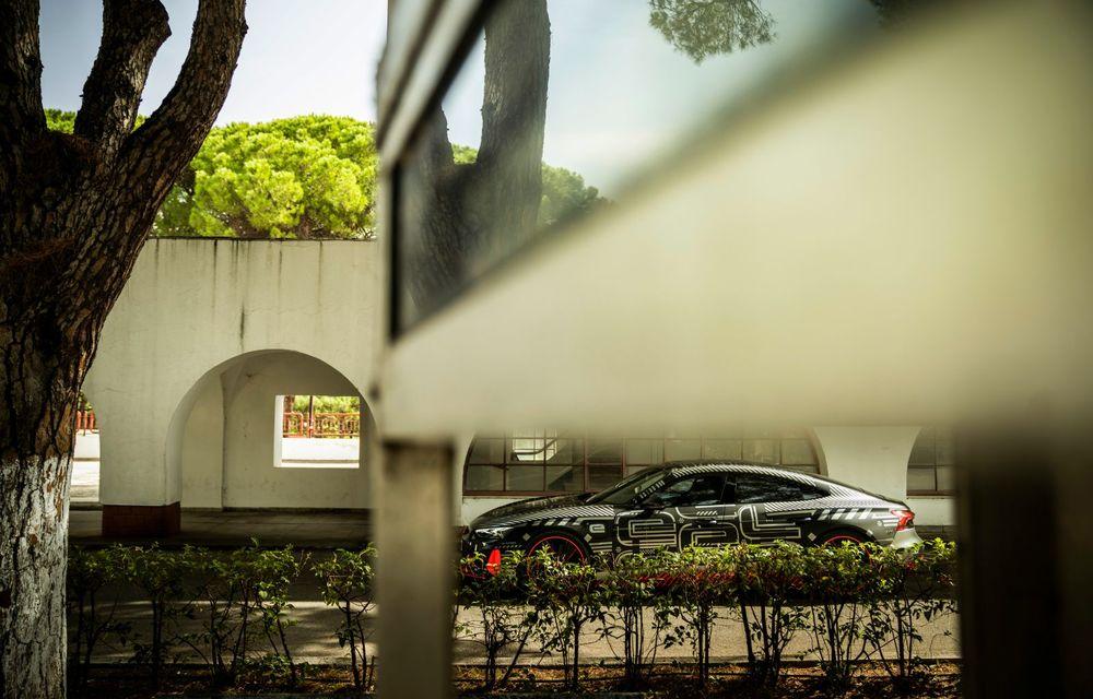 Imagini și informații noi referitoare la viitorul Audi RS e-tron GT: două motoare electrice cu până la 655 CP și autonomie estimată de 400 de kilometri - Poza 31