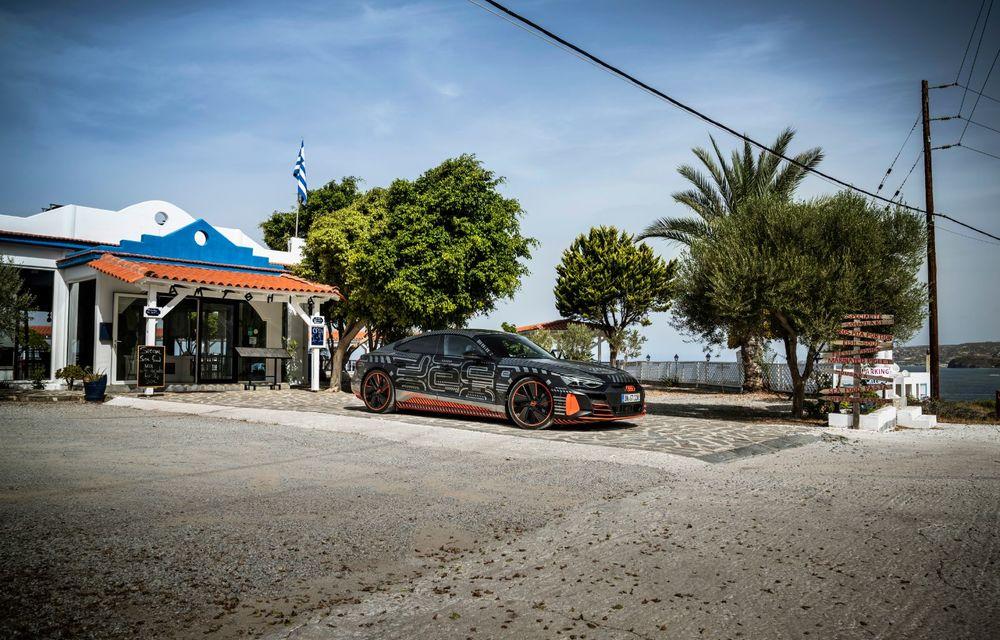 Imagini și informații noi referitoare la viitorul Audi RS e-tron GT: două motoare electrice cu până la 655 CP și autonomie estimată de 400 de kilometri - Poza 28