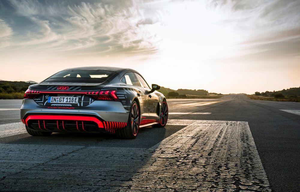Imagini și informații noi referitoare la viitorul Audi RS e-tron GT: două motoare electrice cu până la 655 CP și autonomie estimată de 400 de kilometri - Poza 9