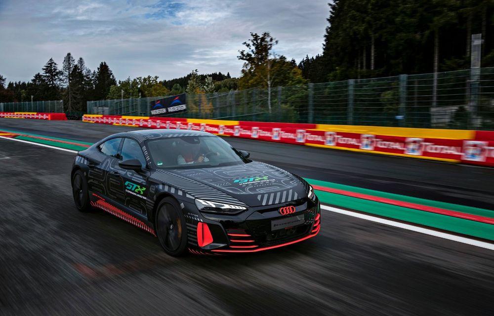 Imagini și informații noi referitoare la viitorul Audi RS e-tron GT: două motoare electrice cu până la 655 CP și autonomie estimată de 400 de kilometri - Poza 6