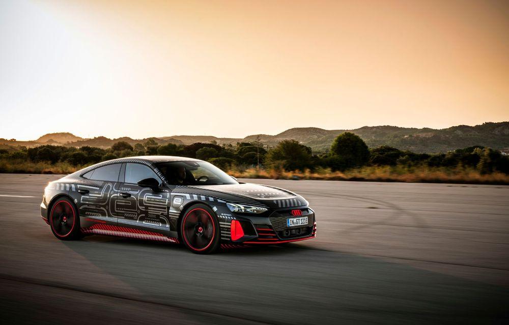 Imagini și informații noi referitoare la viitorul Audi RS e-tron GT: două motoare electrice cu până la 655 CP și autonomie estimată de 400 de kilometri - Poza 10