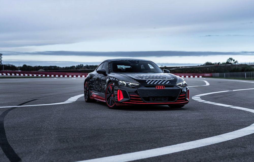 Imagini și informații noi referitoare la viitorul Audi RS e-tron GT: două motoare electrice cu până la 655 CP și autonomie estimată de 400 de kilometri - Poza 2
