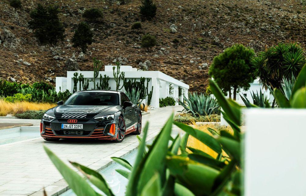 Imagini și informații noi referitoare la viitorul Audi RS e-tron GT: două motoare electrice cu până la 655 CP și autonomie estimată de 400 de kilometri - Poza 46
