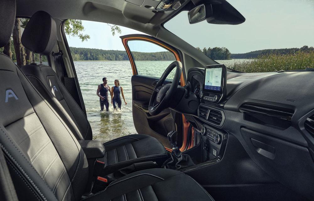 Primele imagini și informații despre Ford Ecosport Active: noua versiune cu gardă la sol mai ridicată costă 21.100 de euro - Poza 5