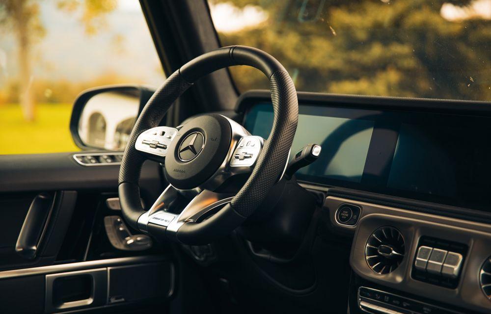 """PORTRET: Mercedes-AMG G63 după 2000 de kilometri: """"AMG G63 rămâne unul dintre modelele pe care trebuie să le conduci cel puțin o dată în viață"""" - Poza 55"""