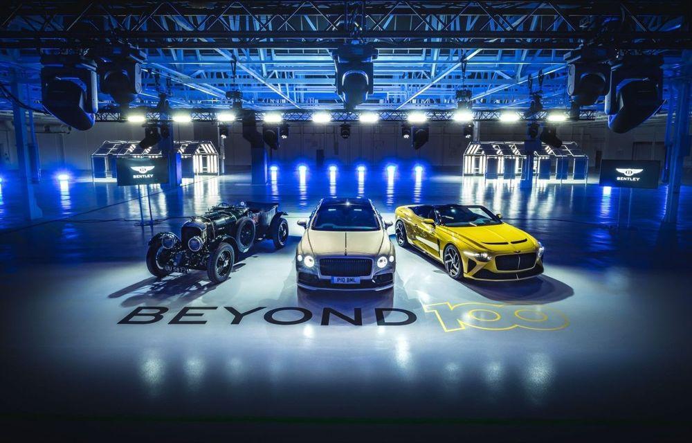 Bentley vrea să vândă doar mașini electrice după 2030: britanicii vor lansa doi hibrizi plug-in în 2021 și primul model electric în 2025 - Poza 1