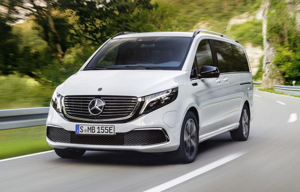 Monovolumul electric Mercedes-Benz EQV este disponibil în România: prețurile încep de la aproape 74.000 de euro - Poza 1