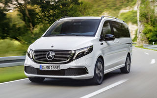 Monovolumul electric Mercedes-Benz EQV este disponibil în România: prețurile încep de la aproape 74.000 de euro