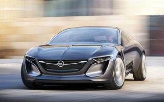Presa germană: Opel ar putea relansa modelul Monza sub forma unui crossover electric în 2024