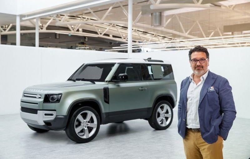 Land Rover are un nou director de design: italianul Massimo Frascella a mai lucrat la Ford și Kia - Poza 1