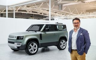 Land Rover are un nou director de design: italianul Massimo Frascella a mai lucrat la Ford și Kia