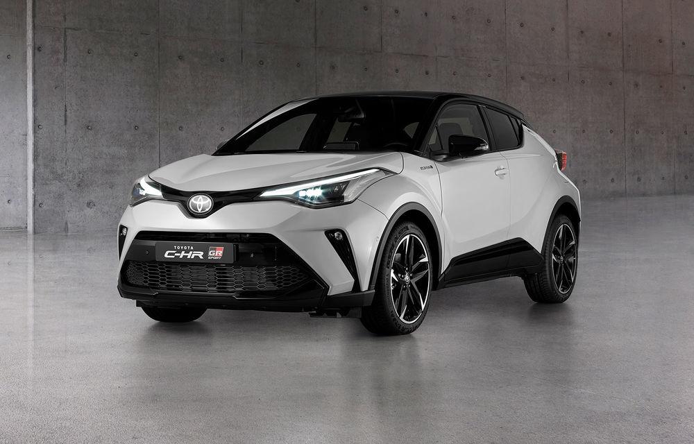 Versiunea Toyota C-HR GR Sport este disponibilă și în Europa: niponii condimentează SUV-ul cu accesorii sport - Poza 1