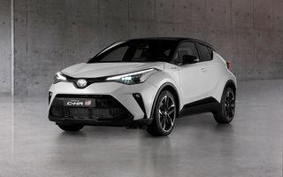 Versiunea Toyota C-HR GR Sport este disponibilă și în Europa: niponii condimentează SUV-ul cu accesorii sport