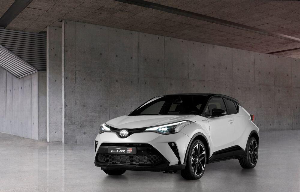 Versiunea Toyota C-HR GR Sport este disponibilă și în Europa: niponii condimentează SUV-ul cu accesorii sport - Poza 5