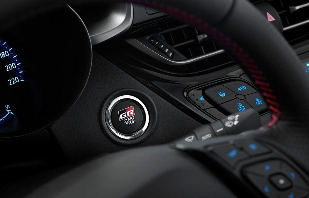 Versiunea Toyota C-HR GR Sport este disponibilă și în Europa: niponii condimentează SUV-ul cu accesorii sport - Poza 26