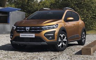 Dacia a publicat dotările standard și opționale pentru noul Sandero Stepway: 350 de euro pentru pachetul cu senzori față și spate