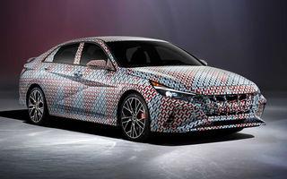 Imagini oficiale cu viitorul Hyundai Elantra N: noul model de performanță ar urma să debuteze până la finalul anului