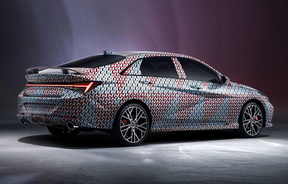 Imagini oficiale cu viitorul Hyundai Elantra N: noul model de performanță ar urma să debuteze până la finalul anului - Poza 2