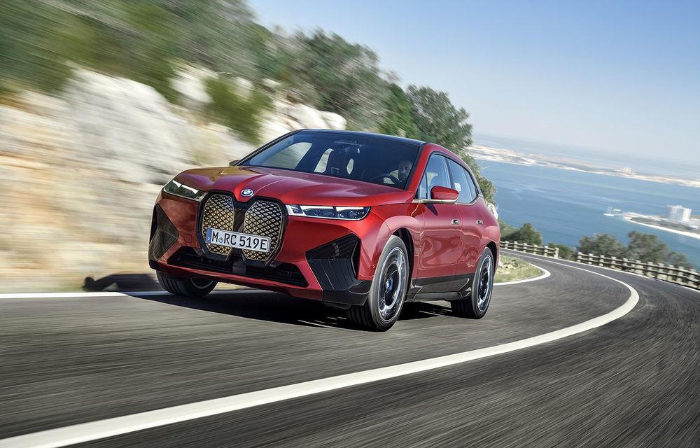 BMW iX este SUV-ul electric derivat din conceptul futurist iNext: peste 500 CP și autonomie mai mare de 600 de kilometri - Poza 1