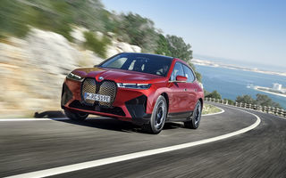 BMW iX este SUV-ul electric derivat din conceptul futurist iNext: peste 500 CP și autonomie mai mare de 600 de kilometri
