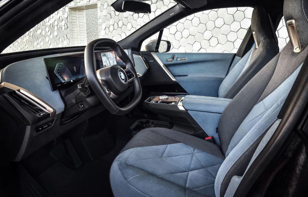 BMW iX este SUV-ul electric derivat din conceptul futurist iNext: peste 500 CP și autonomie mai mare de 600 de kilometri - Poza 5