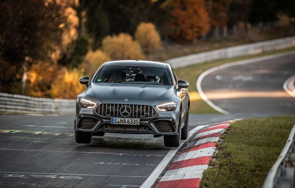 Versiunea cu patru uși a lui Mercedes-AMG GT stabilește un nou record pe Nurburgring: AMG GT 63 S a devenit cel mai rapid model de serie cu 4 locuri de pe Iadul Verde - Poza 5